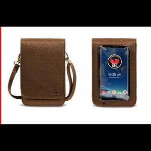 Cell phone touch screen wallet purse STG